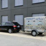 Audi Q2 mit Anhänger