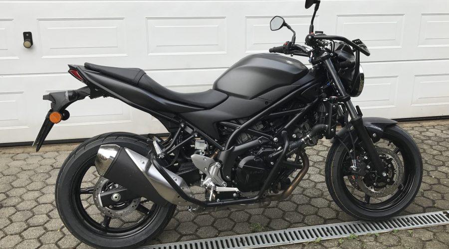 Neues Fahrschulmotorrad Klasse A
