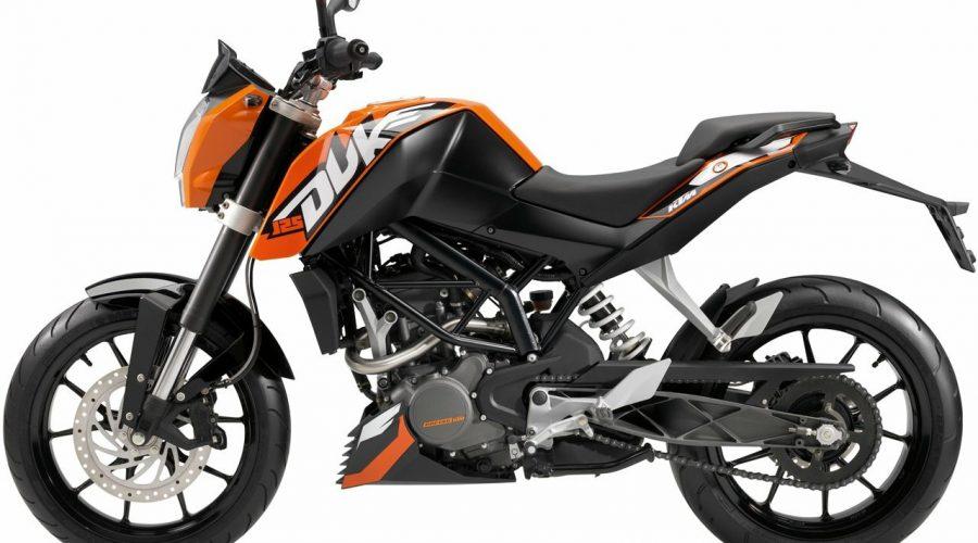 Neues Fahrschulmotorrad der Führerscheinklasse A1