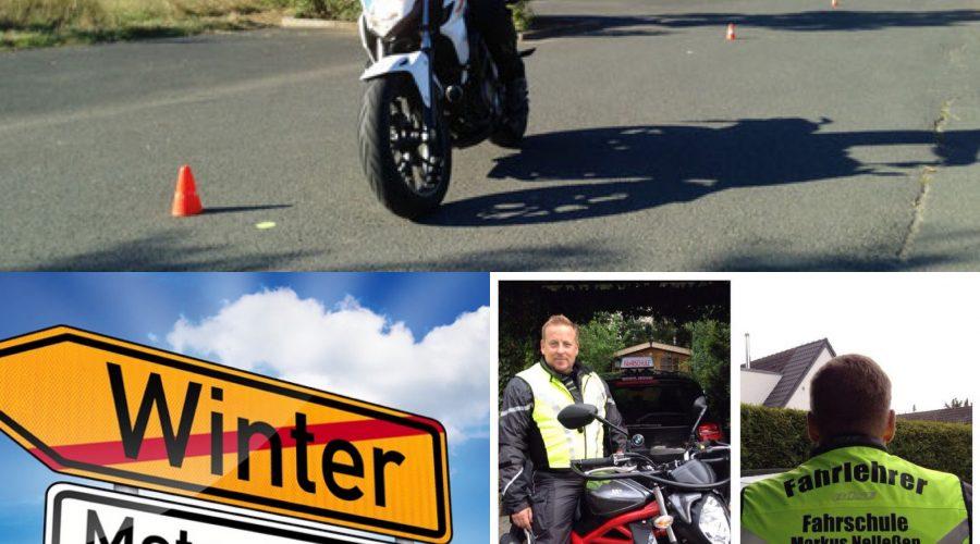 Motorradausbildung beginnt am 1. März 2019