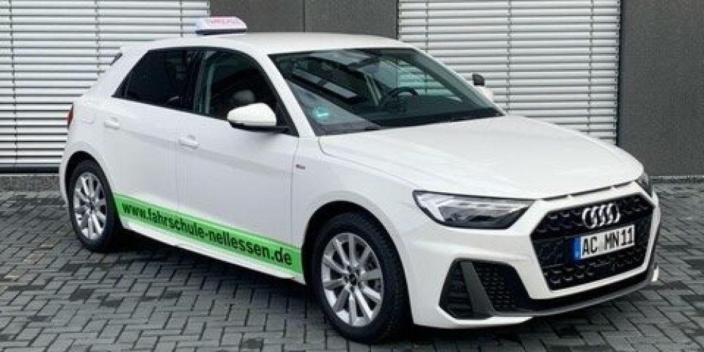 Audi A1 weiß