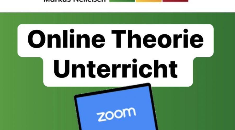 Merkblatt Online Theorie Unterricht